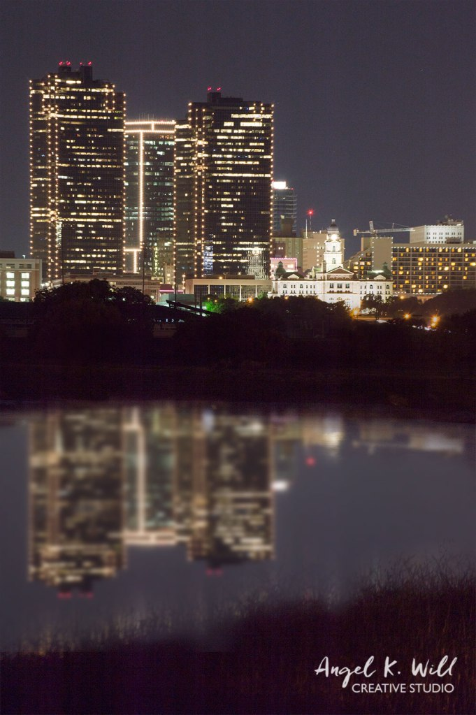 faux-reflection-fort-worth-at-night-angelkwill