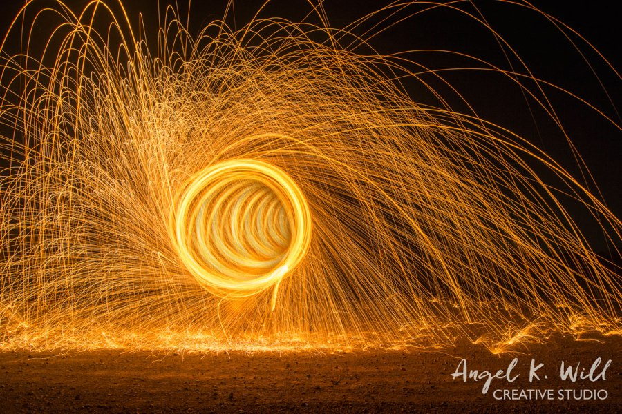 Experimenting with Steel Wool Photography