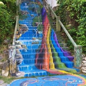 painted-stairwell-eureka-springs-angelkwill